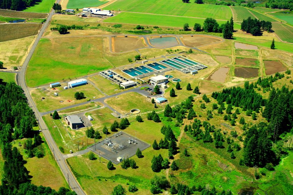 Aerial photo of JWC WTP